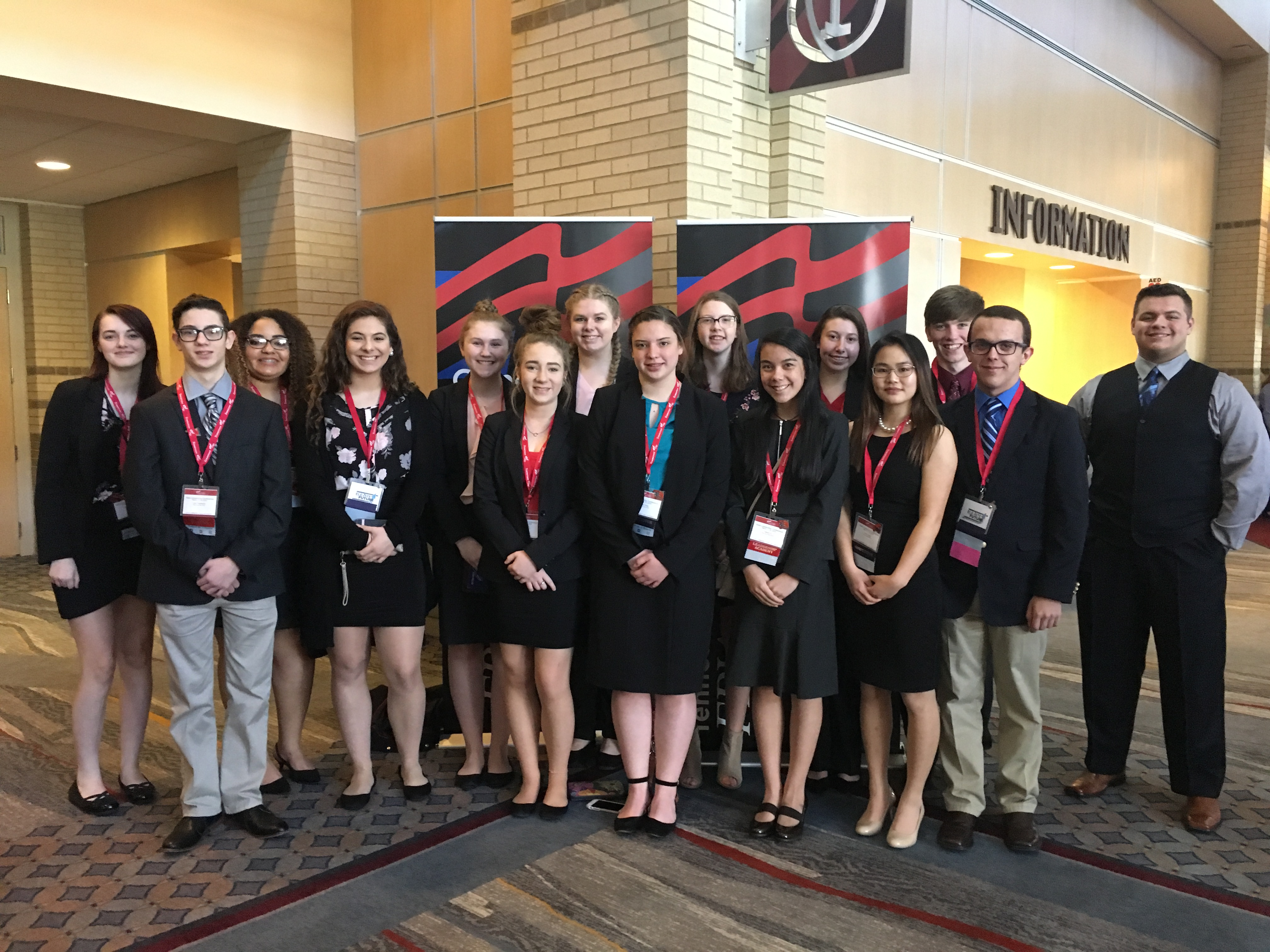 FBLA Students at State Competition