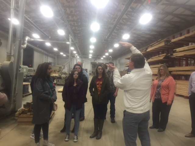 Work Skills Class Industry Tour