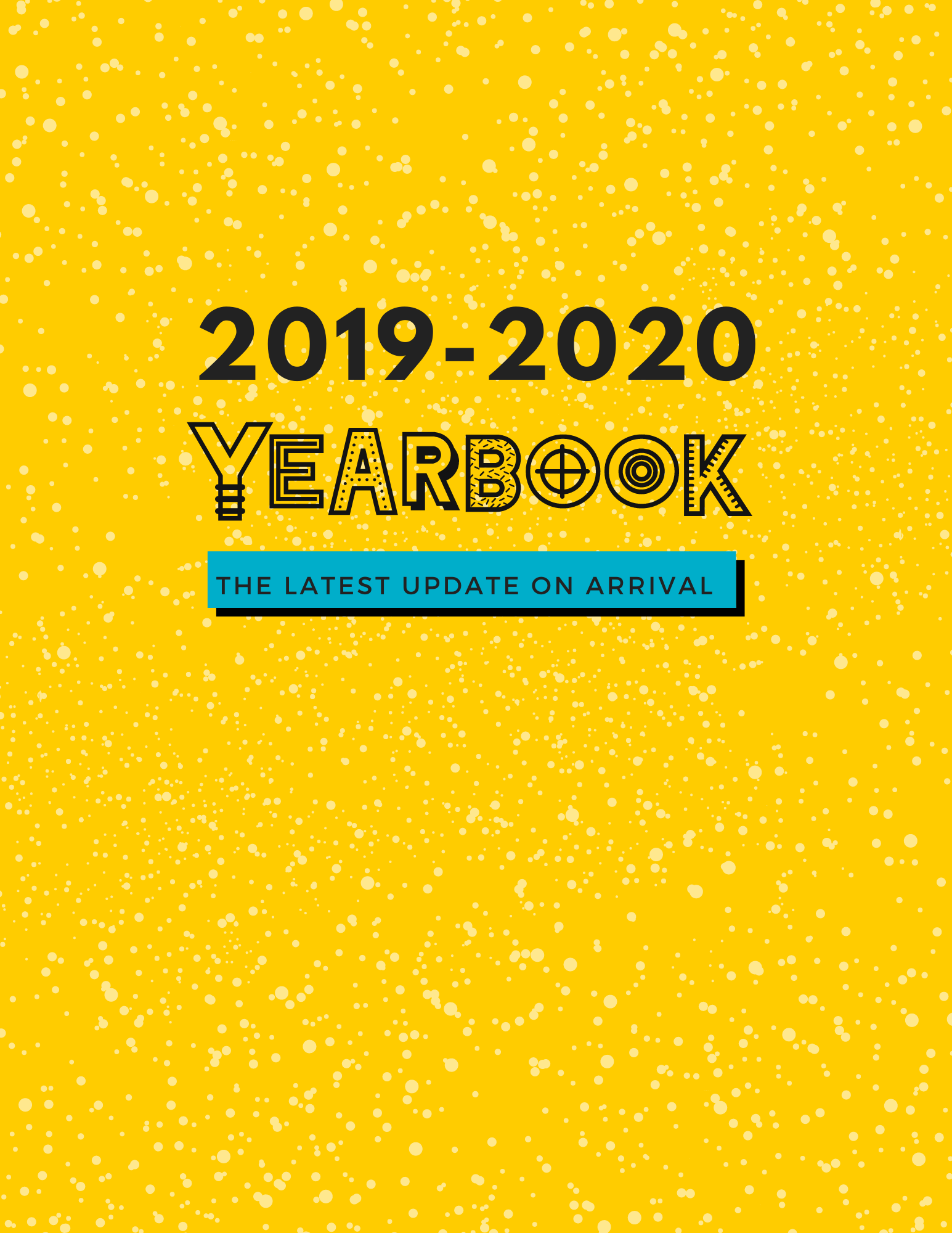 2019-2020 Yearbook Update