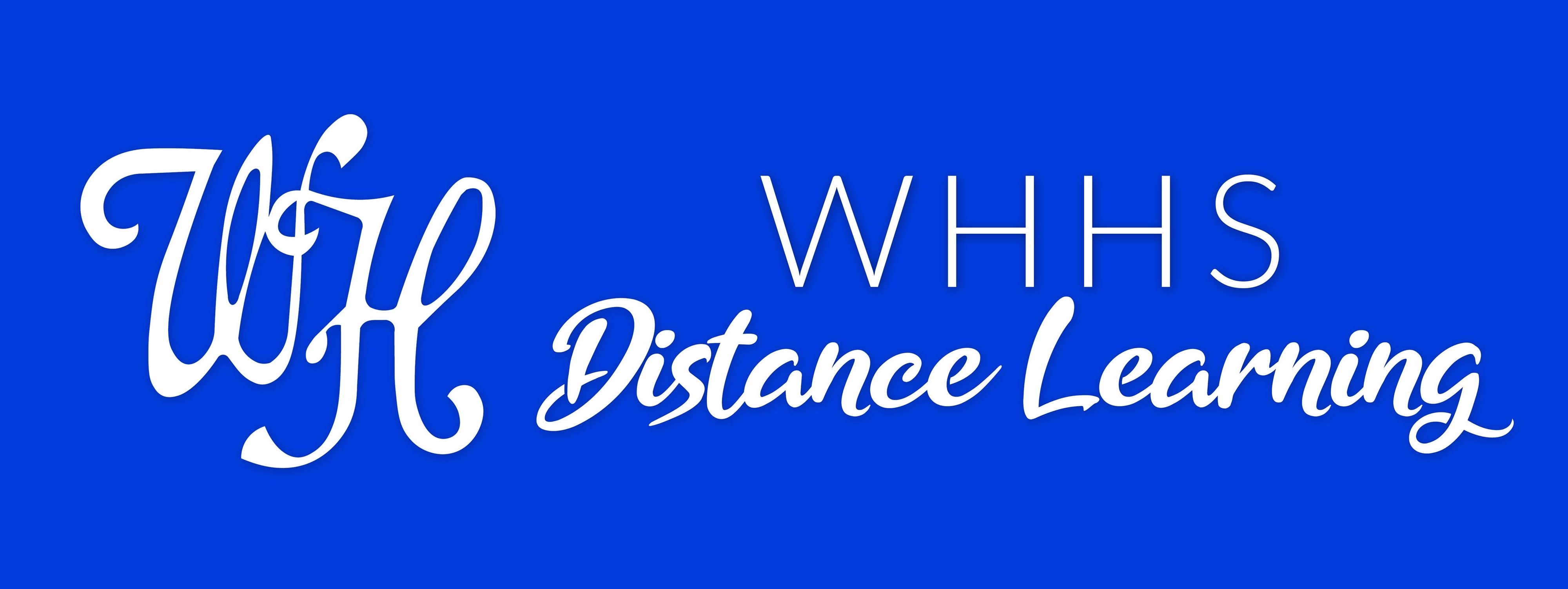WH Distance Learning